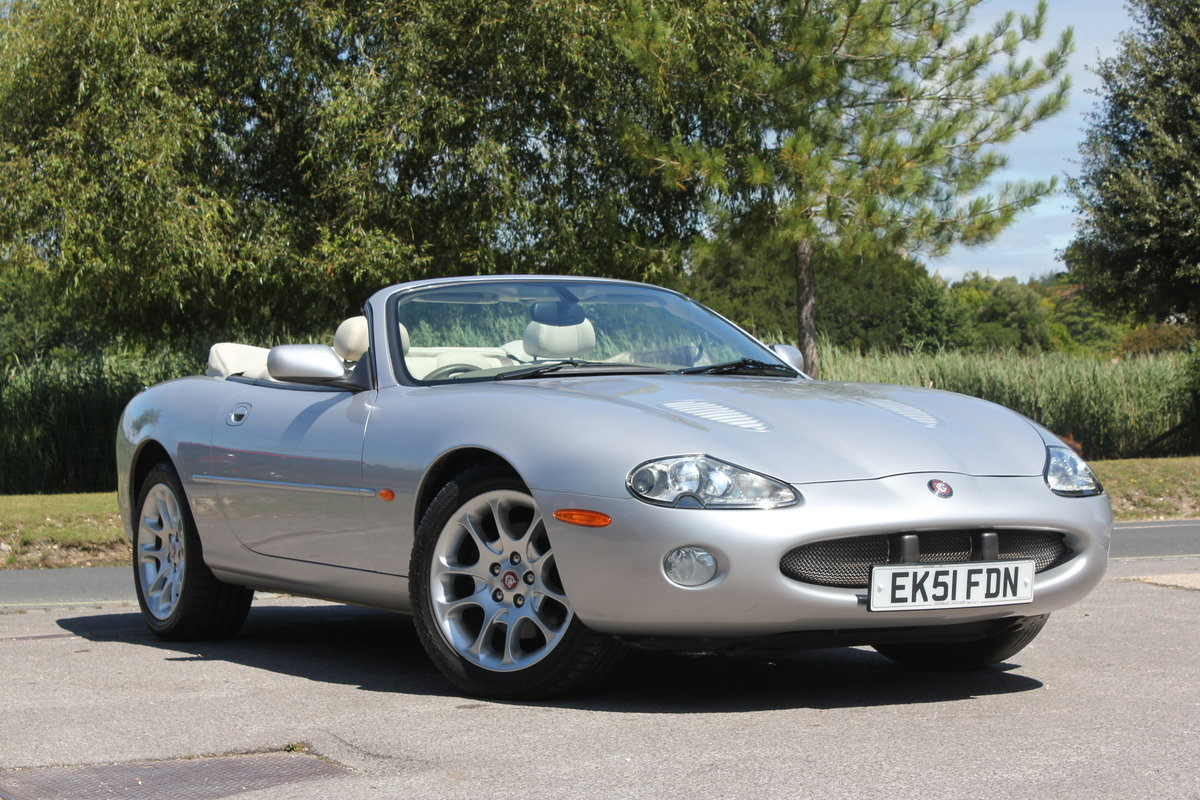 2002 Jaguar XKR Convertible just 51,500 miles and 2 owners   For Sale (picture 1 of 6)