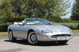 2002  Jaguar XKR Convertible just 51,500 miles and 2 owners