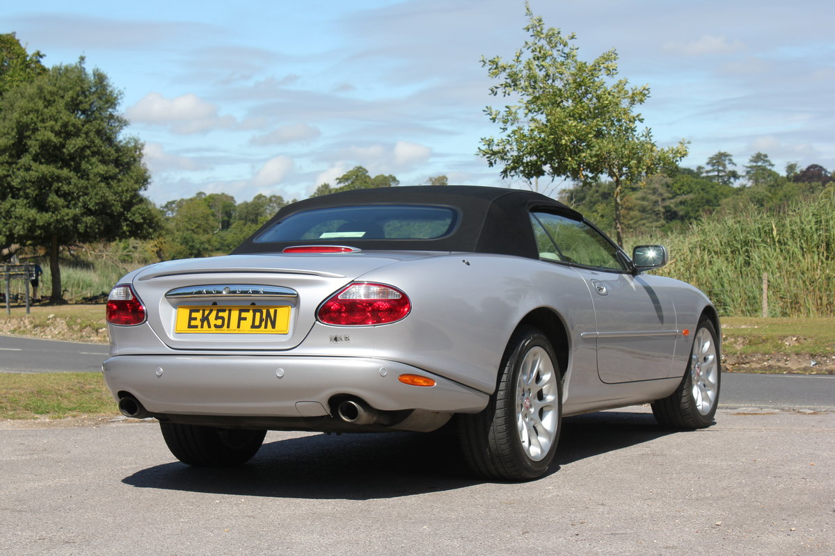 2002 Jaguar XKR Convertible just 51,500 miles and 2 owners   For Sale (picture 2 of 6)