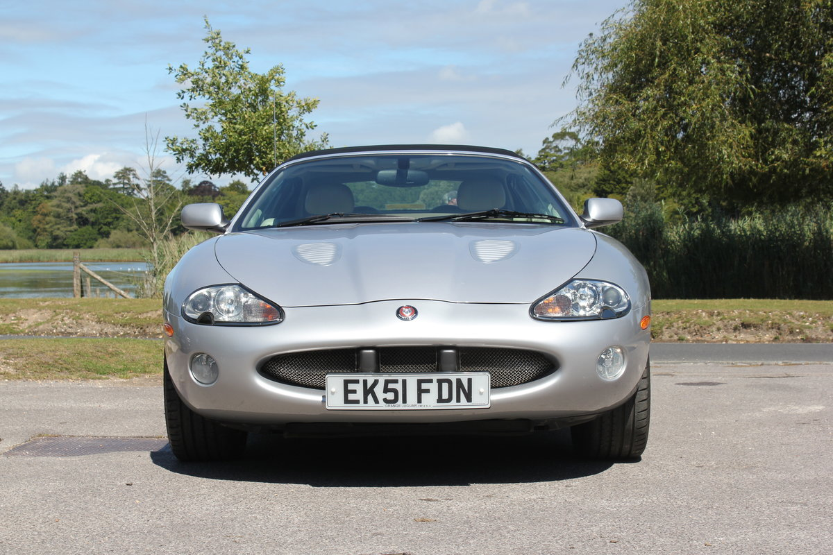 2002 Jaguar XKR Convertible just 51,500 miles and 2 owners   For Sale (picture 4 of 6)