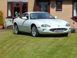 Unique opportunity to purchase a rare white xk8