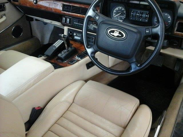 1990 Jaguar XJS HE meticulously maintained and recommisioned For Sale by Auction (picture 5 of 6)