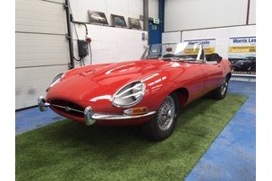1964 Jaguar Series 1, 3.8, E-Type Matching Numbers Example  For Sale by Auction