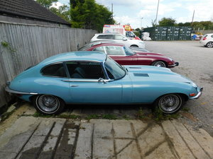 1969 JAGUAR E TYPE 4.2 AUTO