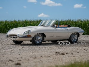 1962 Jaguar E-Type Series 1 3.8-Litre Roadster
