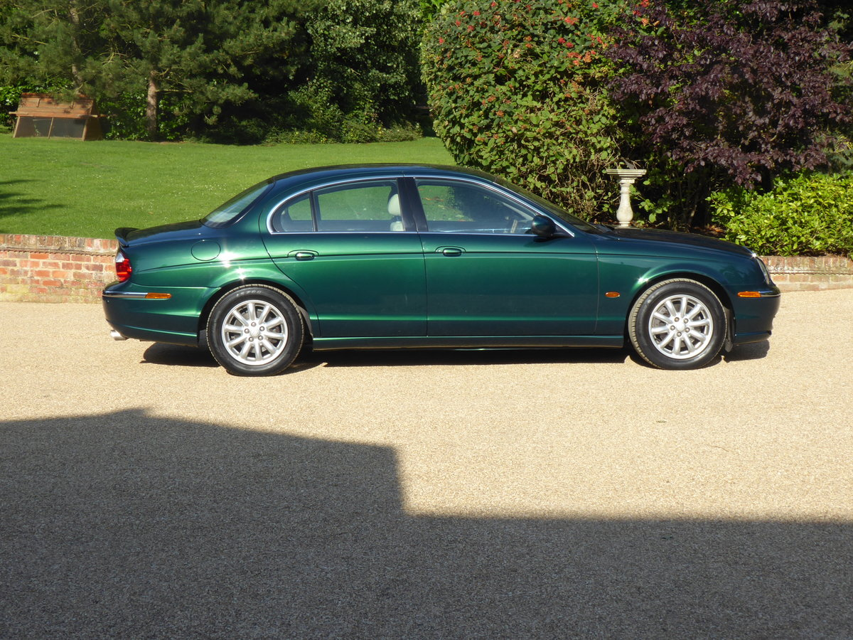 2003 Jaguar S Type 3.0 V6 SE Full Service History Low Mileage SOLD (picture 1 of 6)