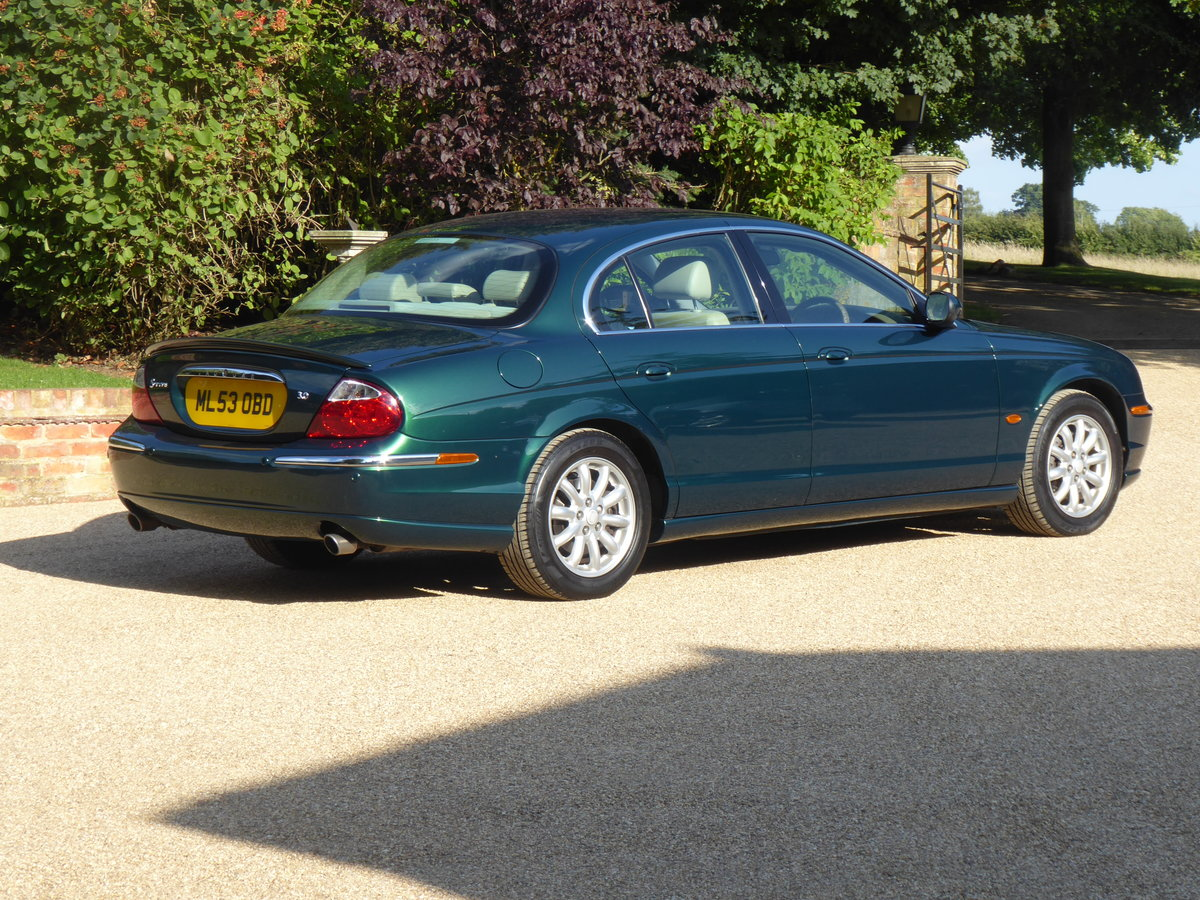 2003 Jaguar S Type 3.0 V6 SE Full Service History Low Mileage SOLD (picture 2 of 6)