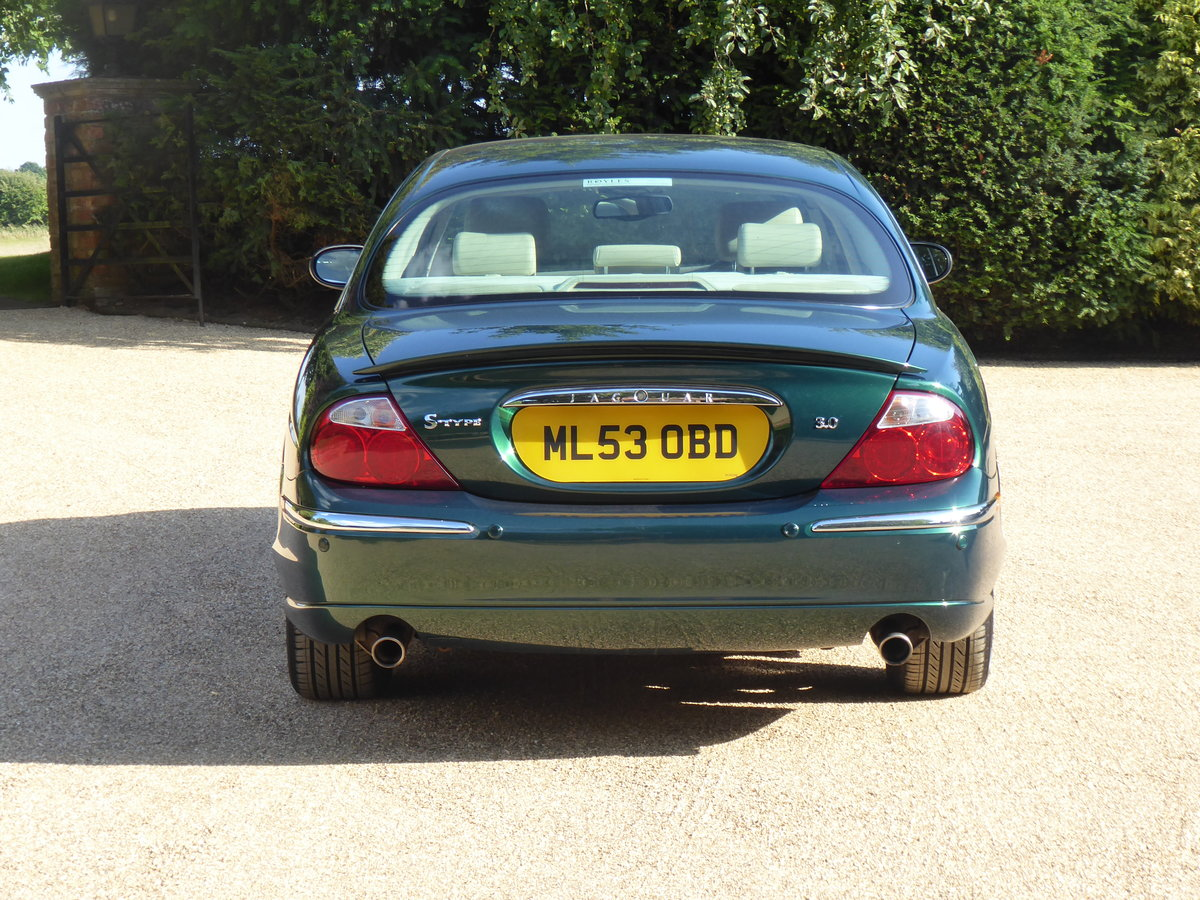 2003 Jaguar S Type 3.0 V6 SE Full Service History Low Mileage SOLD (picture 3 of 6)