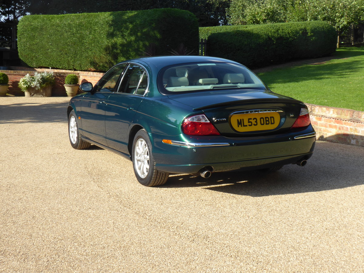2003 Jaguar S Type 3.0 V6 SE Full Service History Low Mileage SOLD (picture 4 of 6)