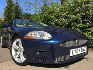 Jaguar XKR 4.2 Convertible - FSH - Low miles.