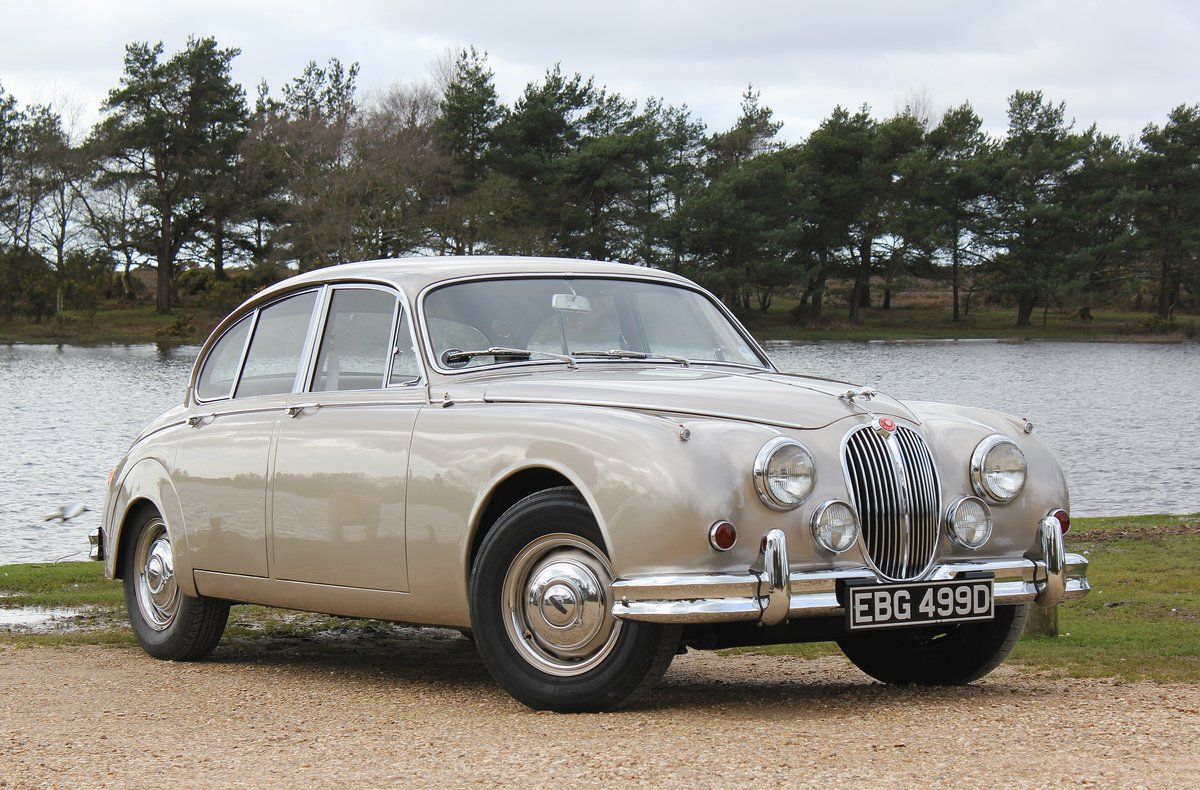 1966 Jaguar MK2 3.4L MOD matching numbers 70k miles For Sale (picture 1 of 6)