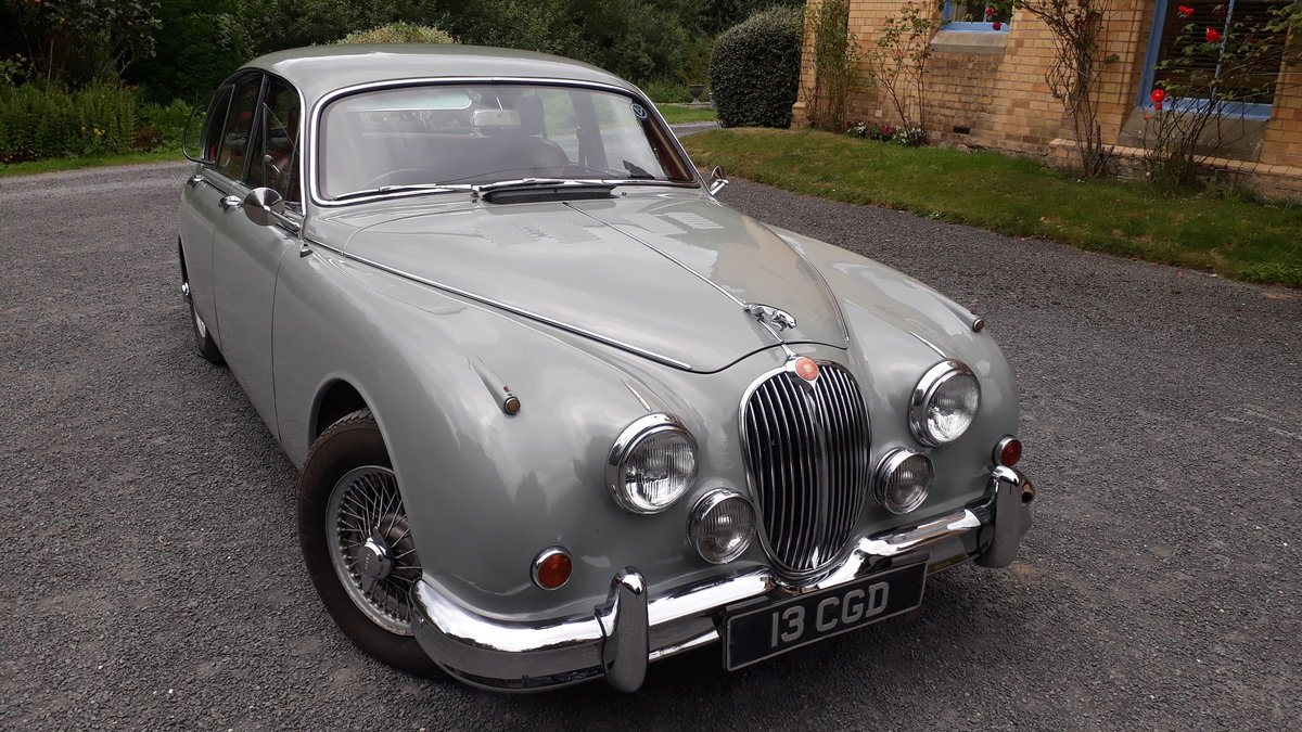 1961 Jaguar 3.4 Mk2 overdrive For Sale (picture 1 of 6)