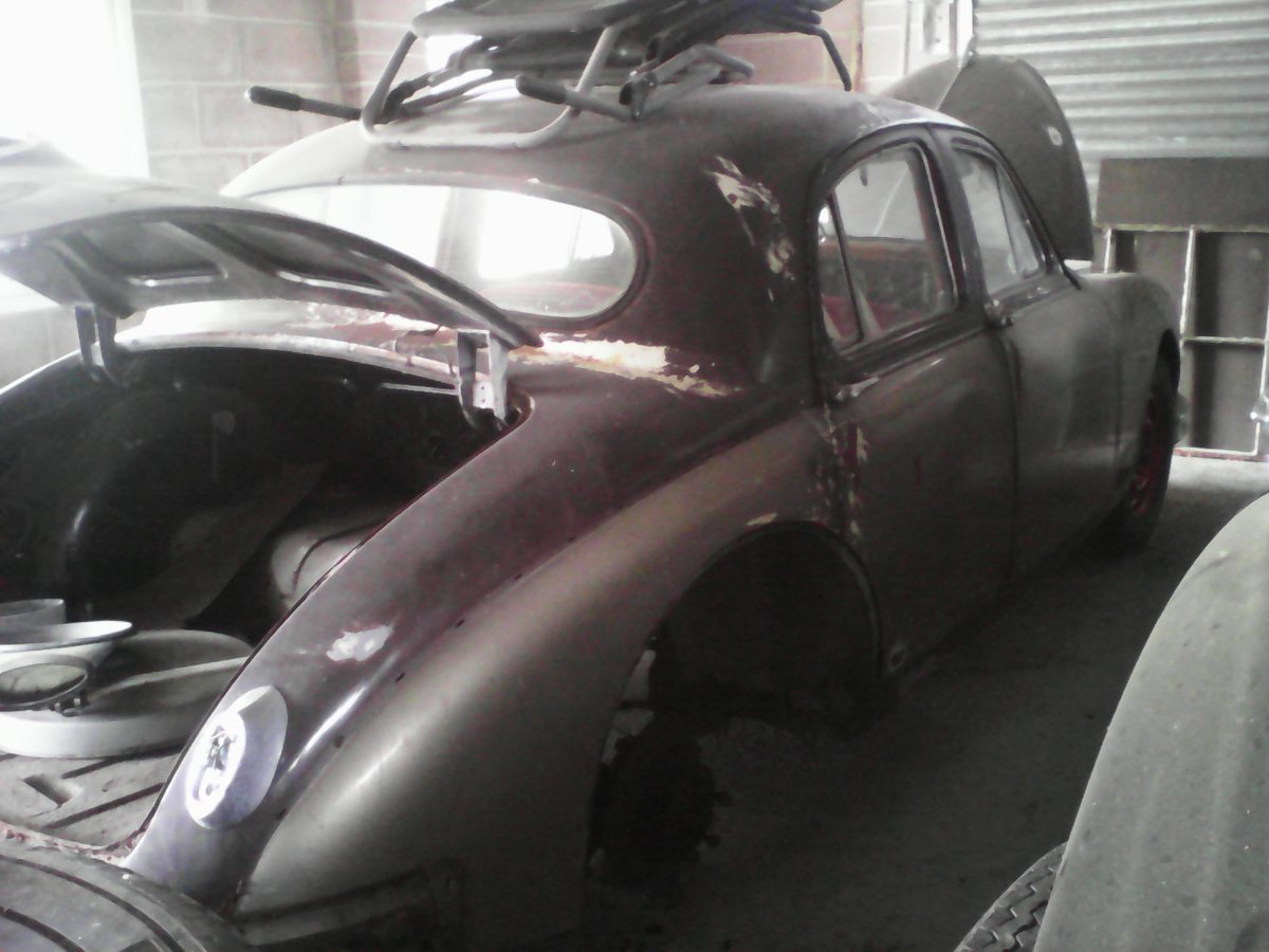 1957 Jaguar Mk 1 For Sale (picture 1 of 3)