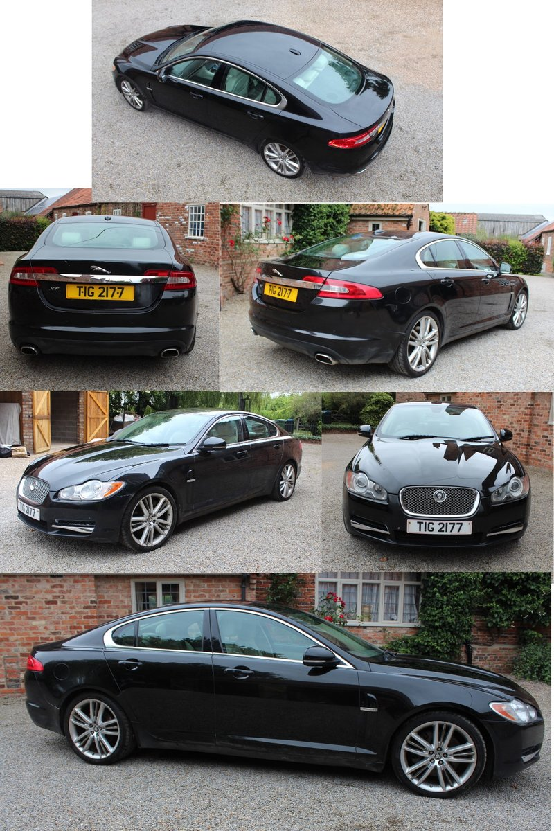 High Spec 2010 Jag XF dateless number plate  For Sale (picture 2 of 3)