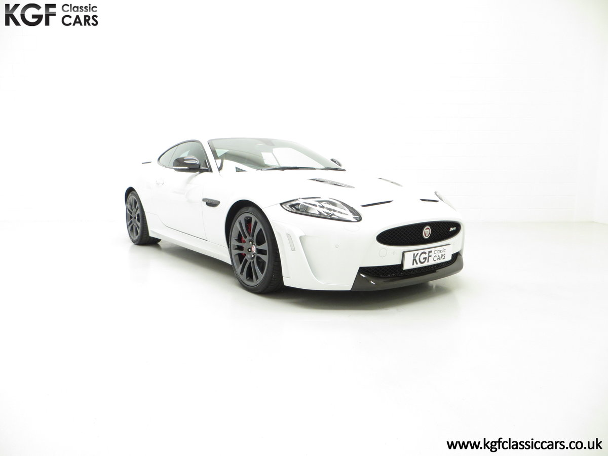 2011 A Jaguar XKR-S Coupe with 19,838 Miles & Full Jaguar History SOLD (picture 1 of 24)