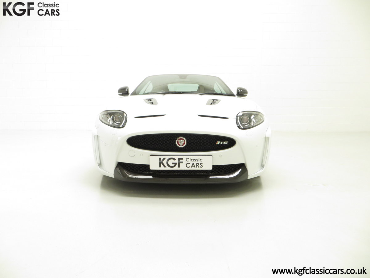 2011 A Jaguar XKR-S Coupe with 19,838 Miles & Full Jaguar History SOLD (picture 2 of 24)