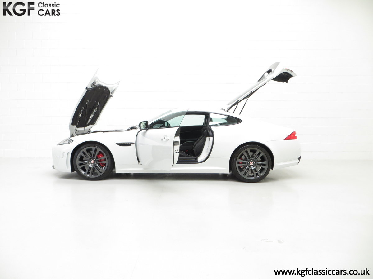 2011 A Jaguar XKR-S Coupe with 19,838 Miles & Full Jaguar History SOLD (picture 5 of 24)