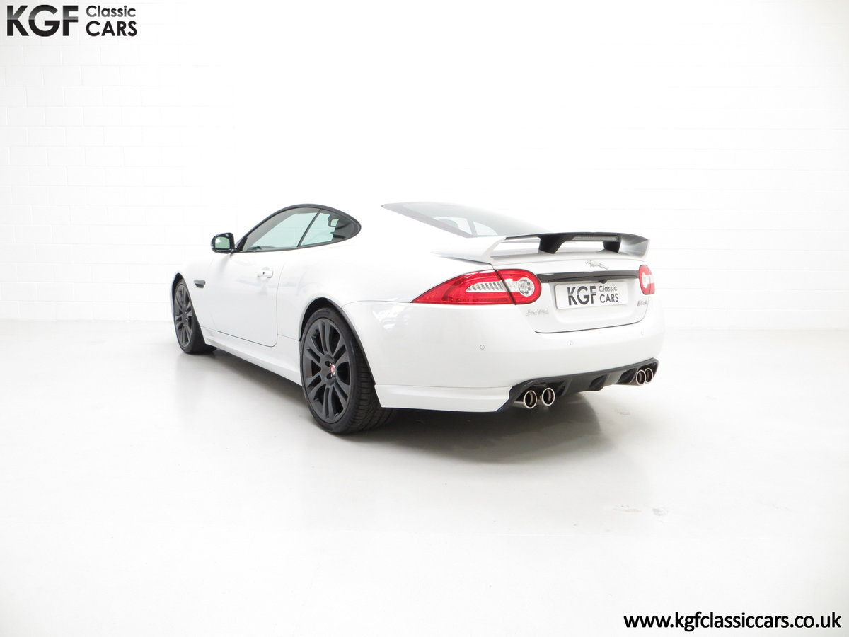 2011 A Jaguar XKR-S Coupe with 19,838 Miles & Full Jaguar History SOLD (picture 6 of 24)