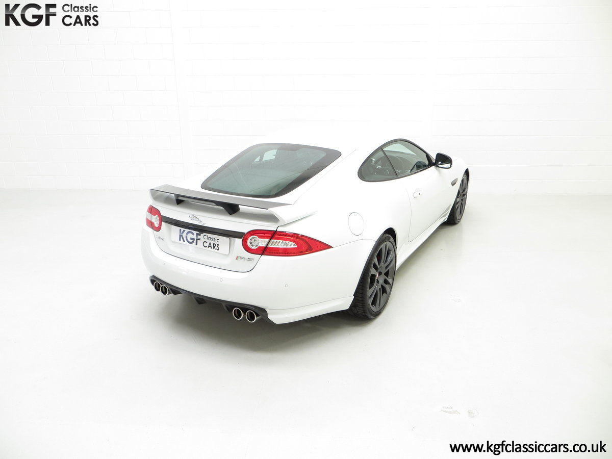 2011 A Jaguar XKR-S Coupe with 19,838 Miles & Full Jaguar History SOLD (picture 10 of 24)