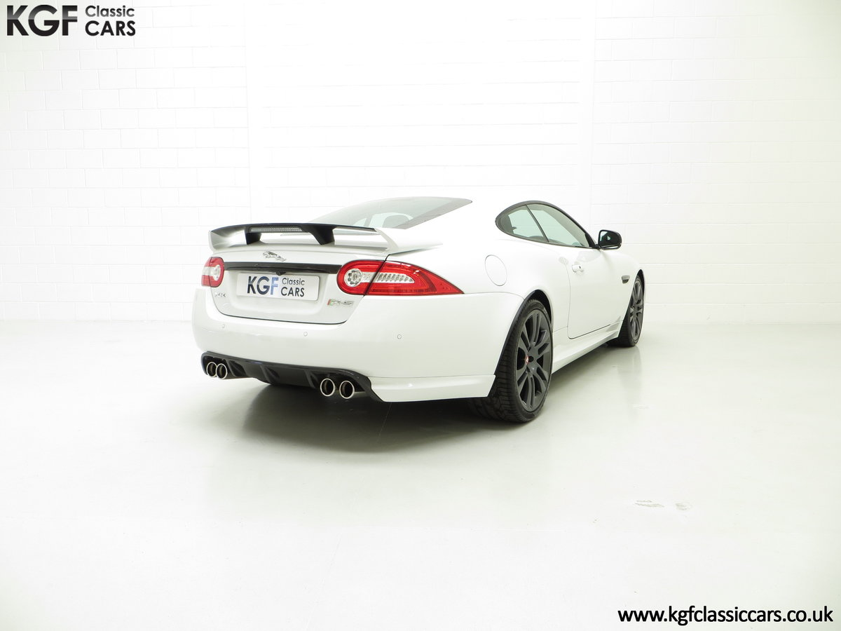 2011 A Jaguar XKR-S Coupe with 19,838 Miles & Full Jaguar History SOLD (picture 11 of 24)