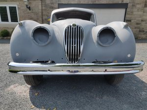 Jaguar XK140 SE FHC for completion