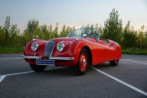 Jaguar XK 120 OTS 3.4 Roadster 1951 in restored condition For Sale