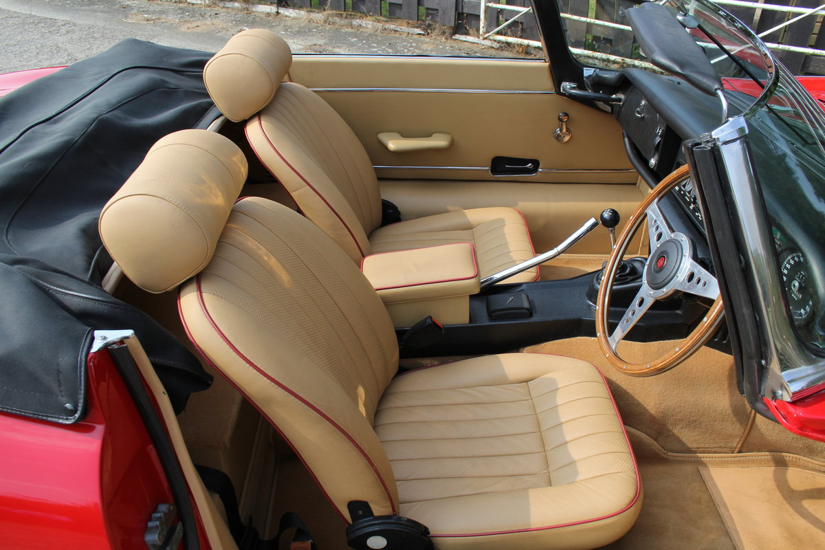 1973 Jaguar E-Type Series III V12 Roadster Matching No's UK car For Sale (picture 8 of 20)