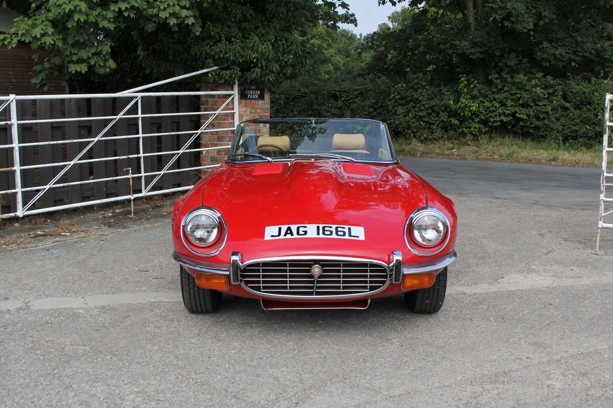 1973 Jaguar E-Type Series III V12 Roadster Matching No's UK car For Sale (picture 2 of 20)