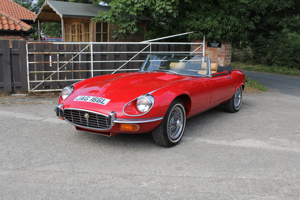 1973 Jaguar E-Type Series III V12 Roadster Matching No's UK car For Sale (picture 3 of 20)
