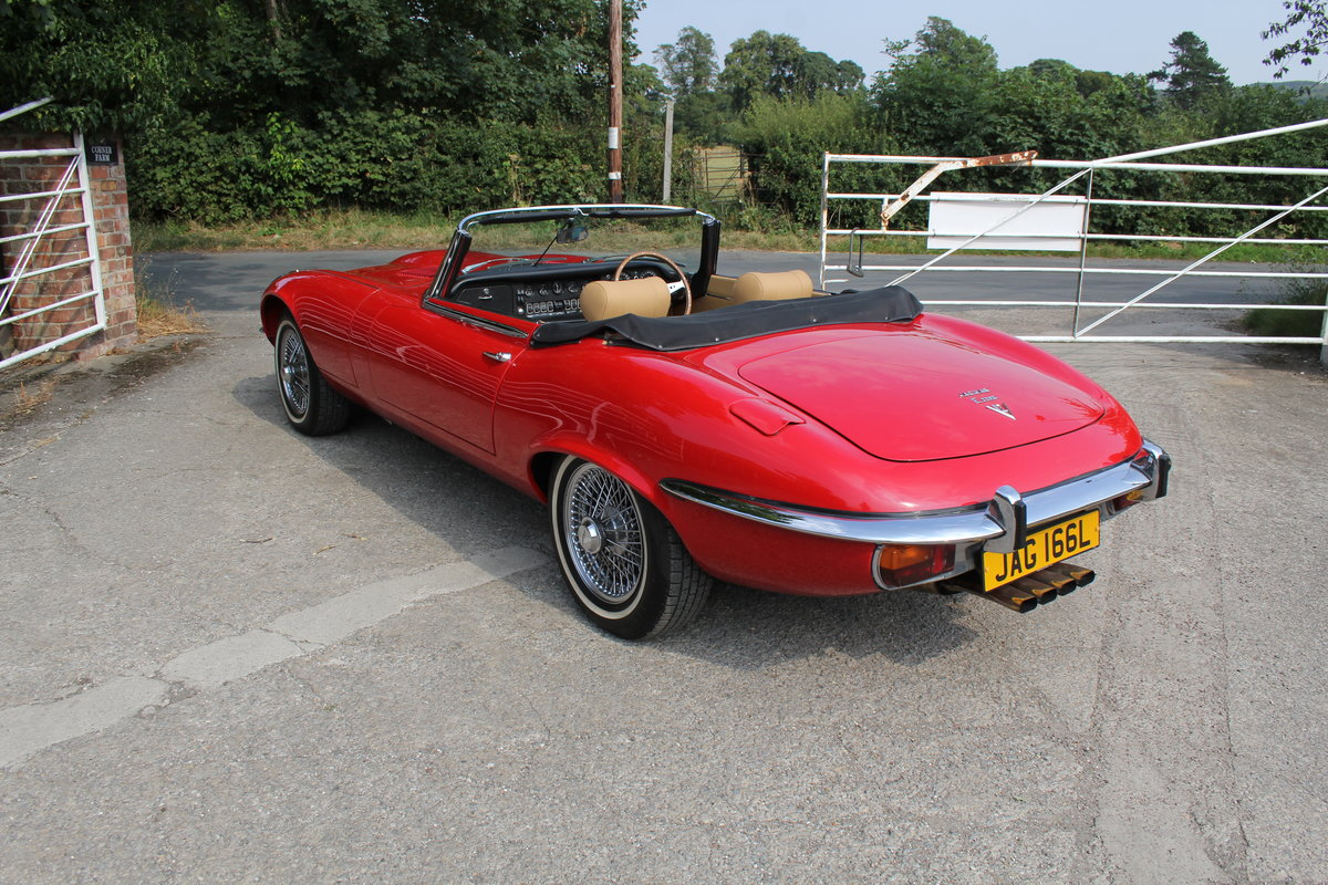 1973 Jaguar E-Type Series III V12 Roadster Matching No's UK car For Sale (picture 4 of 20)