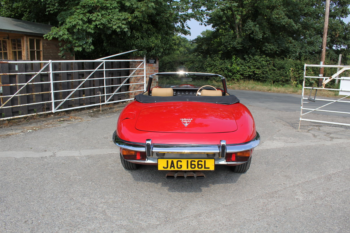 1973 Jaguar E-Type Series III V12 Roadster Matching No's UK car For Sale (picture 5 of 20)