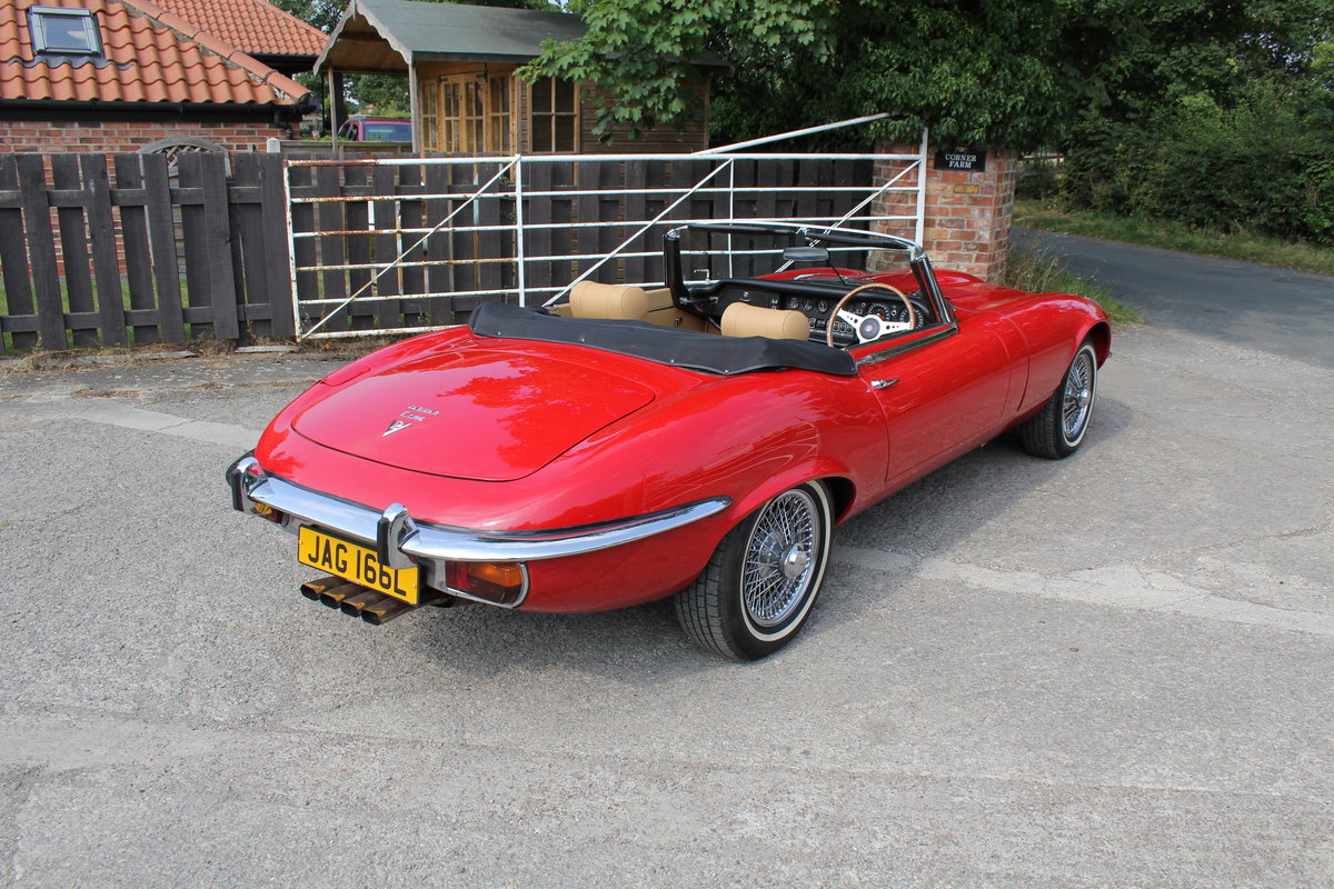 1973 Jaguar E-Type Series III V12 Roadster Matching No's UK car For Sale (picture 6 of 20)
