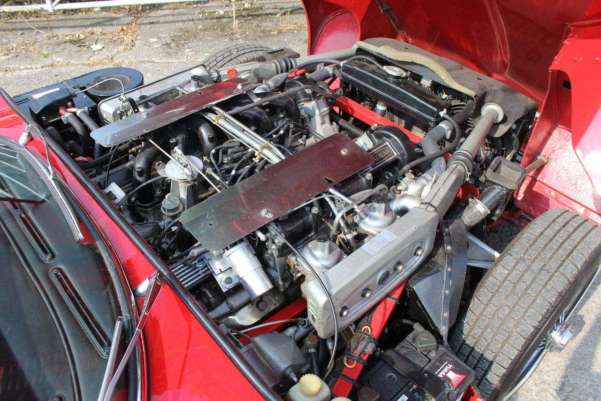 1973 Jaguar E-Type Series III V12 Roadster Matching No's UK car For Sale (picture 13 of 20)