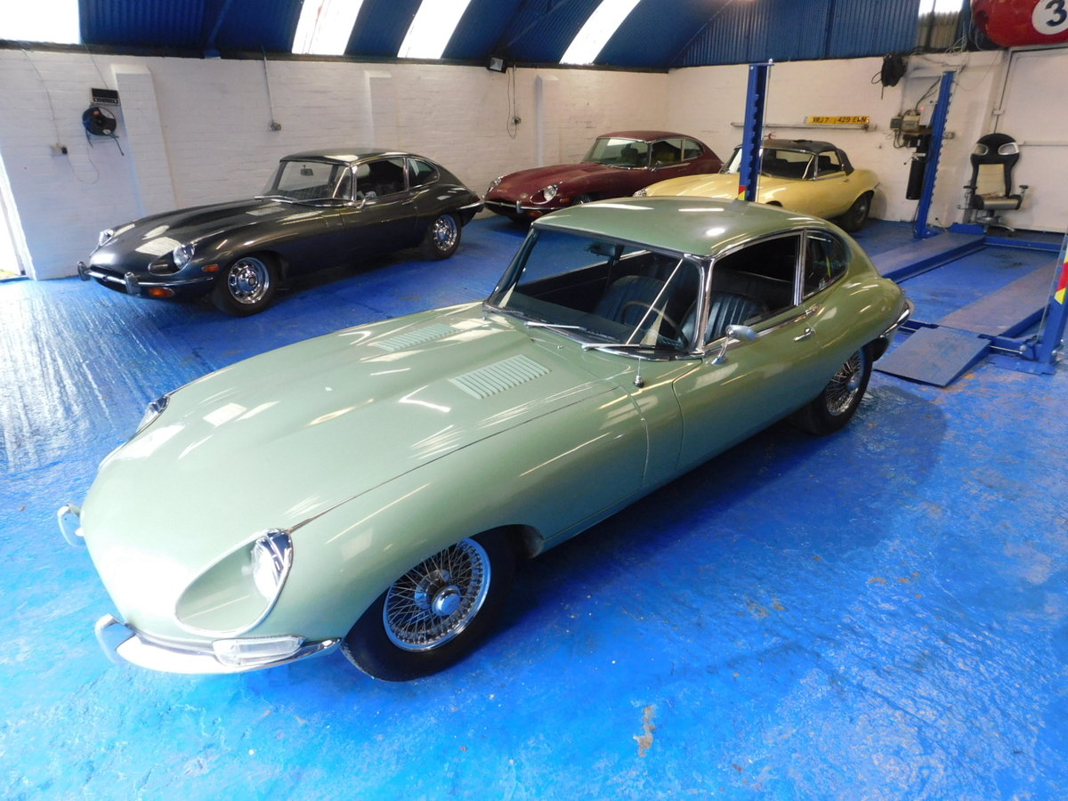 1968 JAGUAR E TYPE SERIES 1.5 For Sale (picture 3 of 10)