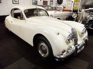 1956 JAGUAR XK140 SE FIXED HEAD COUPE (manual with overdrive)