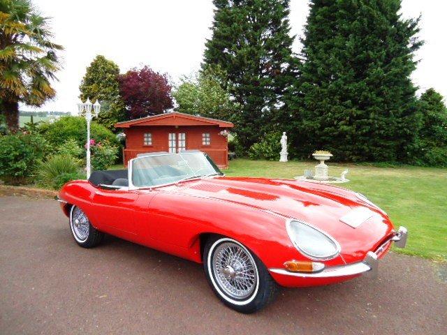 1963 Jaguar E Type Series 1 Left drive For Sale (picture 1 of 6)