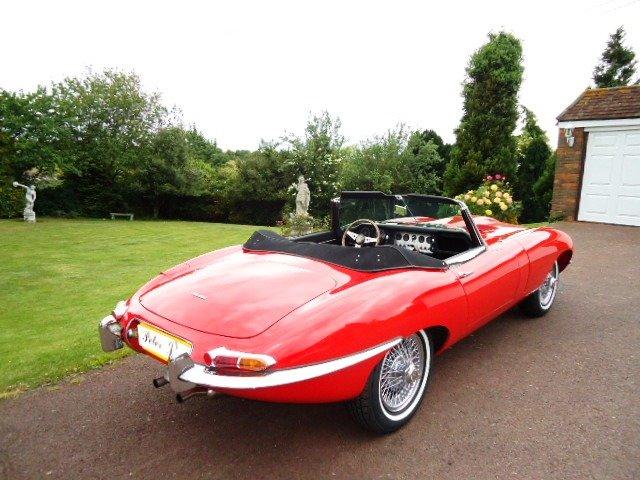 1963 Jaguar E Type Series 1 Left drive For Sale (picture 2 of 6)