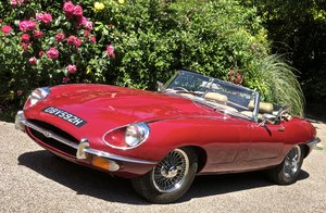 Picture of 1969 JAGUAR E TYPE 4.2 MANUAL ROADSTER    RHD For Sale