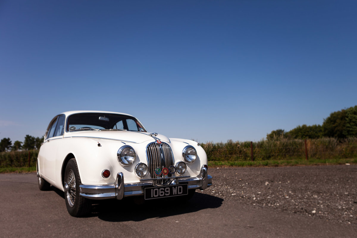 1962 Jaguar Mark ll 3.4, Manual with Overdrive For Sale (picture 1 of 6)