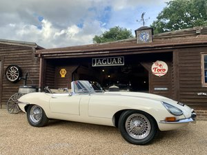 Picture of 1965 JAGUAR E-TYPE S1 4.2 ROADSTER. U.K. R.H.D, MATHCING NUMBERS! SOLD