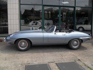 1969 Jaguar E Type Roadster owned by inventor Trevor Baylis For Sale