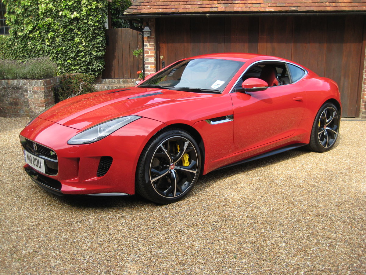 2014 Jaguar F-Type R V8 Just 1,824 Miles With 1 Owner From New For Sale (picture 1 of 6)