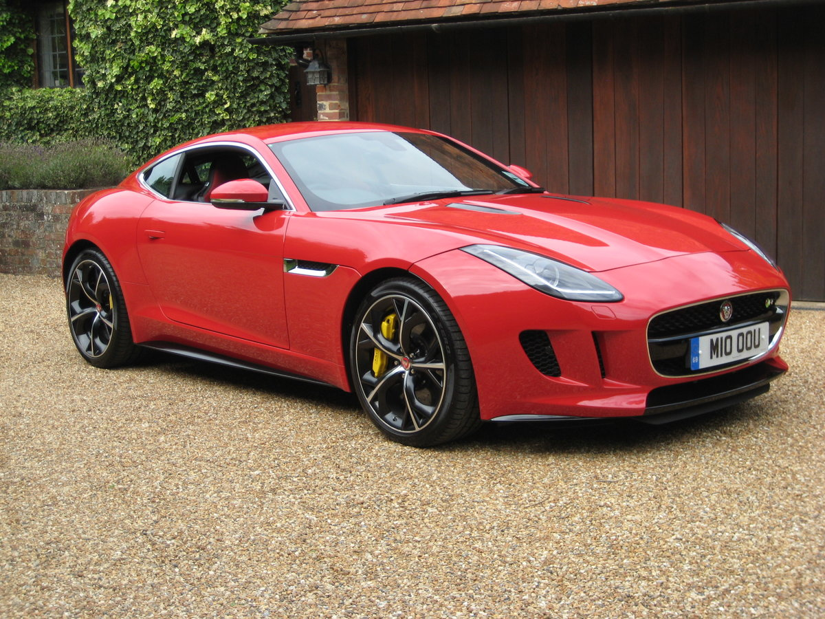 2014 Jaguar F-Type R V8 Just 1,824 Miles With 1 Owner From New For Sale (picture 2 of 6)