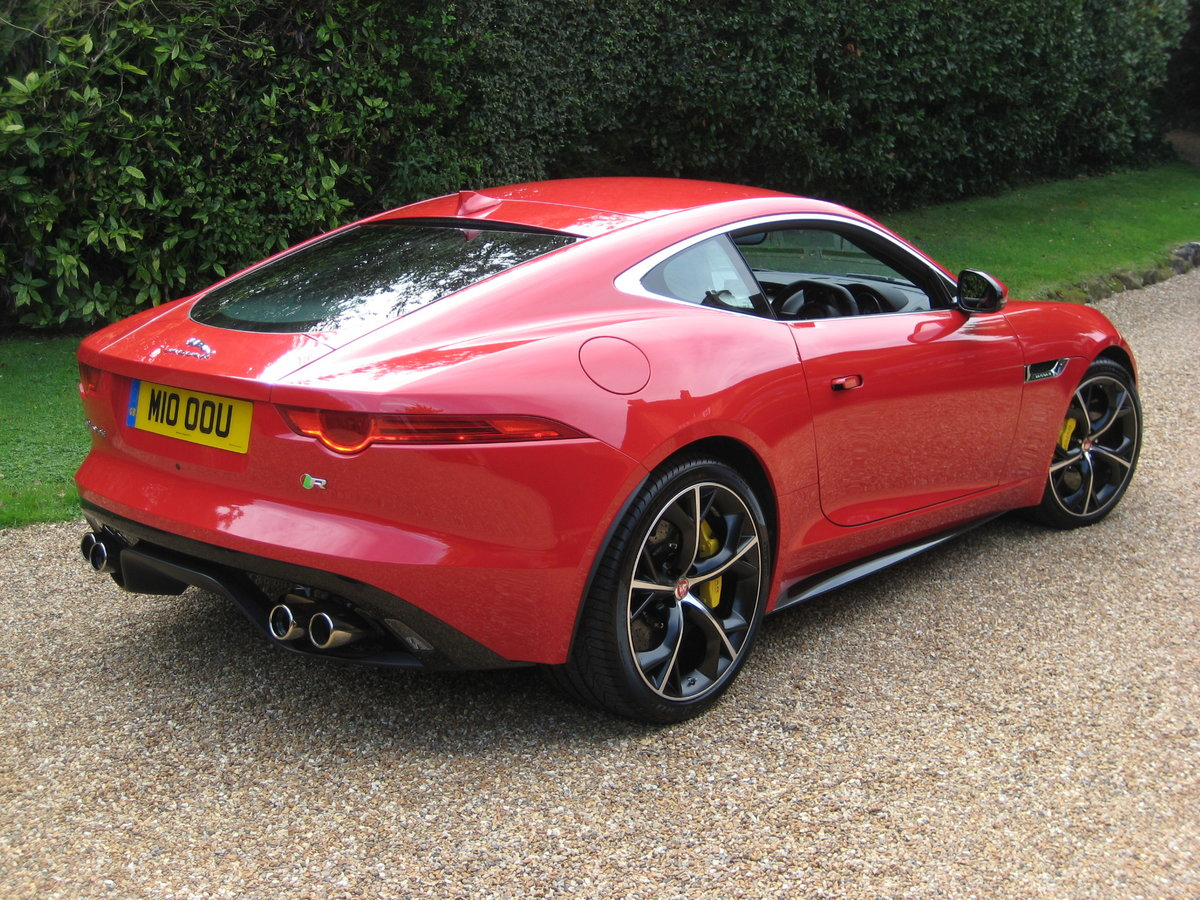 2014 Jaguar F-Type R V8 Just 1,824 Miles With 1 Owner From New For Sale (picture 6 of 6)