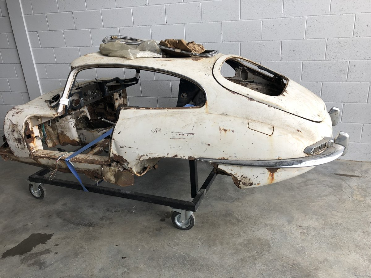 1962 Jaguar E-Type S1 3.8 FHC - LHD For Restoration  SOLD (picture 2 of 2)