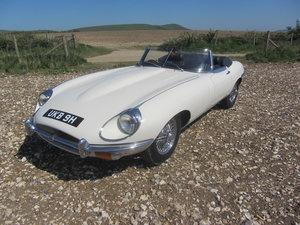 1969 Jaguar E-type Series 2 Roadster For Sale