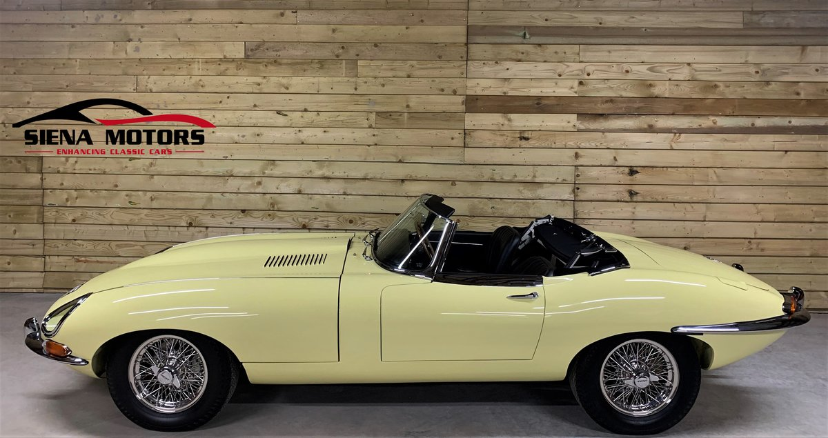 1966 JAGUAR E TYPE ROADSTER     NOW SOLD  For Sale (picture 1 of 6)