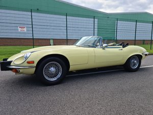 For sale 1973 V12 E Type Roadster. For Sale