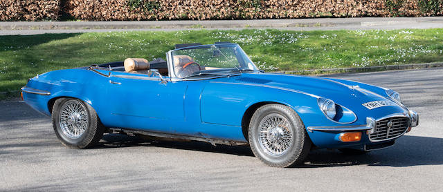 1973 Jaguar E-Type Series 3 V12 Roadster For Sale by Auction