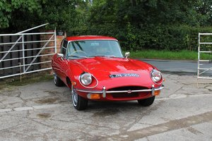 1969 Jaguar E-Type Series II 4.2 2+2, Matching No's, Full History